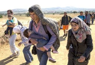 Pako Perhe matkalla sotaa pakoon 2015